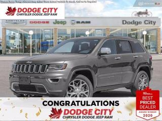 New 2020 Jeep Grand Cherokee Limited for sale in Saskatoon, SK