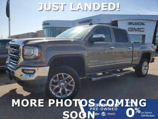 Used 2017 GMC Sierra 1500 SLT 4x4 Crew Cab Long Box | Bose Audio | Navigation for sale in Winnipeg, MB