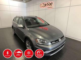 Used 2017 Volkswagen Golf ALLTRACK - AWD - TOIT OUVRANT for sale in Québec, QC