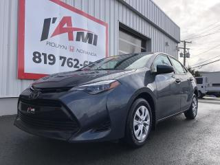 Used 2017 Toyota Corolla 4DR SDN CVT CE for sale in Rouyn-Noranda, QC
