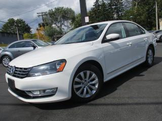 Used 2013 Volkswagen Passat TDI 2.0 ~ ONE OWNER ~ LOW KM ~ 69,000KMS ONLY !! for sale in Burlington, ON