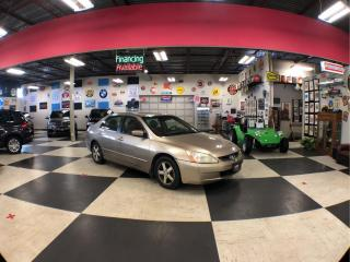 Used 2003 Honda Accord Sdn 4dr Sdn EX Auto w/Leather for sale in North York, ON