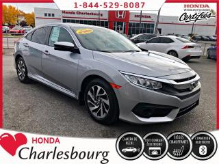 Used 2018 Honda Civic CIVIC EX AUTOMATIQUE***AUCUN ACCIDENT** for sale in Charlesbourg, QC