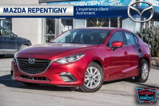 Used 2014 Mazda MAZDA3 BERLINE GS A/C-MAGS-CRUISE-DÉM.DIST 56.4 for sale in Repentigny, QC