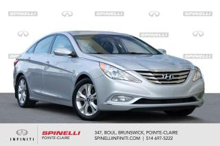 Used 2013 Hyundai Sonata 2.4L Auto Limited / CUIR / TOUT / MAG 17 1 PROPRIETAIRE for sale in Montréal, QC