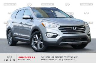 Used 2016 Hyundai Santa Fe XL AWD 4dr 3.3L Auto Limited w-Saddle Int / TOIT PANO 1 PROPRIO - JAMAIS ACCIDENTE for sale in Montréal, QC
