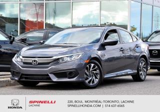 Used 2018 Honda Civic EX AUTO TOIT SEDAN BAS KM AUTO MAGS TOIT OUVRANT APPLE CARPLAY ++ for sale in Lachine, QC