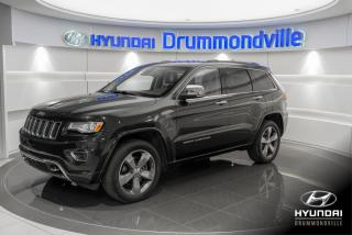 Used 2015 Jeep Grand Cherokee OVERLAND + GARANTIE + NAVI + TOIT PANO + for sale in Drummondville, QC