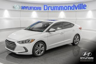Used 2017 Hyundai Elantra GLS + GARANTIE + CAMERA + TOIT + CAMERA for sale in Drummondville, QC