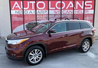 Used 2016 Toyota Highlander XLE-ALL CREDIT ACCEPTED for sale in Toronto, ON