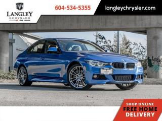 Used 2016 BMW 3 Series 340i  Manual / Backup / Sunroof / Single Owner for sale in Surrey, BC