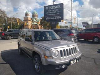 Used 2015 Jeep Patriot High Altitude for sale in Windsor, ON