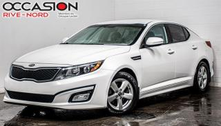 Used 2015 Kia Optima LX SIEGES.CHAUFFANTS+MAGS+BLUETOOTH for sale in Boisbriand, QC