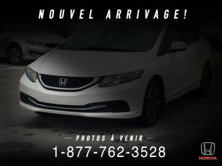 Used 2014 Honda Civic EX + TOIT + A/C + MAGS + WOW! for sale in St-Basile-le-Grand, QC