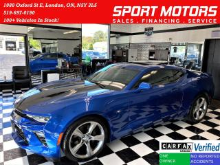 Used 2017 Chevrolet Camaro 1SS 6.2L V8 50th Anniversary Edition+ACCIDENT FREE for sale in London, ON