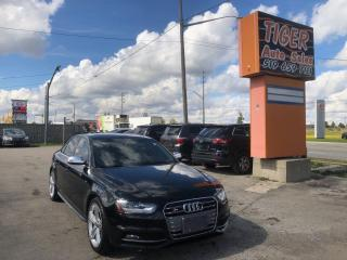 Used 2013 Audi S4 Premium*SPORT DIFFERENTIAL*NAV*CAM*MANUAL*125KMS for sale in London, ON
