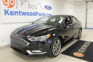 Used 2017 Ford Fusion Titanium AWD | Moonroof | Heated/Cooled Leather Seats | NAV for sale in Edmonton, AB