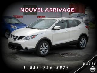 Used 2017 Nissan Qashqai SV AWD + TOIT + CAMÉRA + BAS KILO + MAGS for sale in Magog, QC