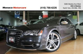 Used 2014 Audi S8 - 520HP MASSAGE ACC BLINDSPOT LANEKEEP NAVI 360CAM for sale in North York, ON