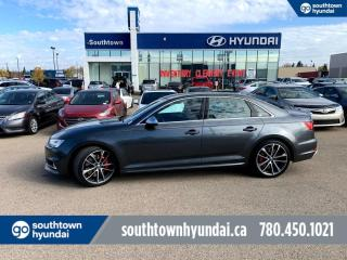 Used 2018 Audi S4 Sedan S4/TECHNIK/354 HP/NAVI/RED LEATHER/ROOF/AWD for sale in Edmonton, AB
