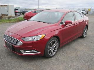 Used 2017 Ford Fusion SE for sale in Thunder Bay, ON