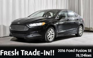 Used 2016 Ford Fusion SE FWD | NAVIGATION | BACKUP CAMERA for sale in Red Deer, AB