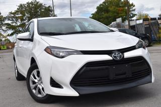 Used 2017 Toyota Corolla CERTIFIED - 6 SPEED MAN ONE OWNER NO ACCIDENTS! for sale in Oakville, ON
