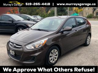 Used 2015 Hyundai Accent GS for sale in Guelph, ON