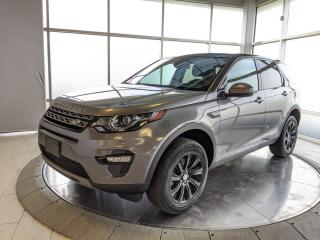 Used 2017 Land Rover Discovery Sport 1 OWNER LEASE RETURN. LOW RATE FINANCING AVAILABLE! for sale in Edmonton, AB