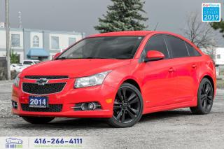 Used 2014 Chevrolet Cruze 2LT RS Package Navi Remote Start Clean Carfax  for sale in Bolton, ON