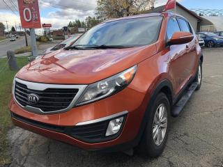 Used 2013 Kia Sportage LX TRACTION AVANT for sale in Shawinigan, QC