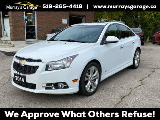 Used 2014 Chevrolet Cruze 2LT RS for sale in Guelph, ON