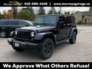 Used 2007 Jeep Wrangler Sahara Unlimited for sale in Guelph, ON