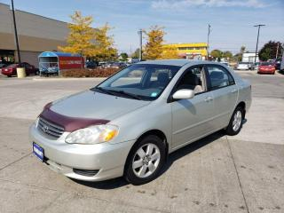 Used 2004 Toyota Corolla Automatic, 4 Door, 3 Years warranty availab for sale in Toronto, ON