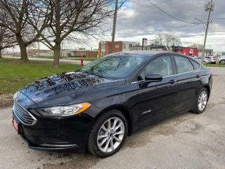 Used 2017 Ford Fusion SE Hybrid ReverseCam/Alloys/Bluetooth for sale in Brampton, ON