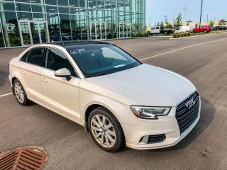 Used 2017 Audi A3 KOMFORT CUIR TOIT MAGS for sale in St-Hubert, QC
