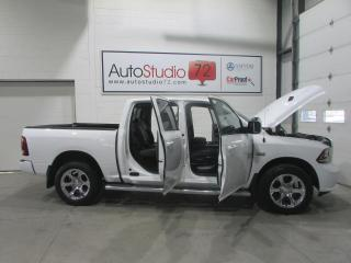 Used 2015 RAM 1500 Cabine muliplaces 4RM, 140,5 po Sport for sale in Mirabel, QC