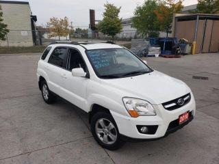 Used 2010 Kia Sportage Only 164000 km, Navi.,Sunroof, Warranty avail for sale in Toronto, ON