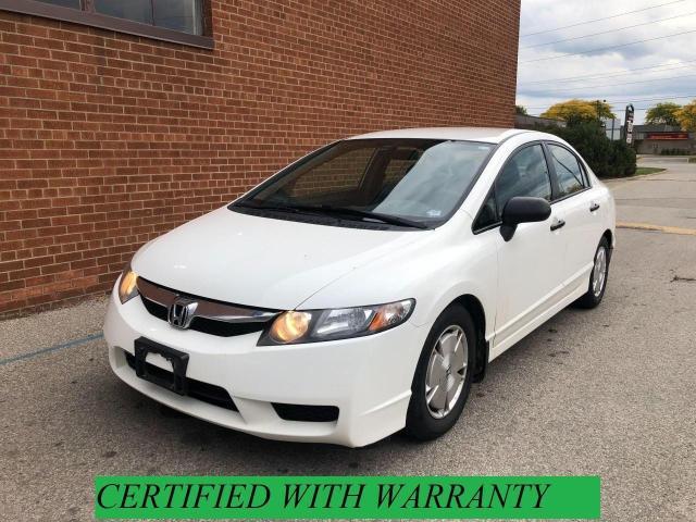 2010 Honda Civic DX-G, Automatic, 222 km/SAFETY& WARRANTY