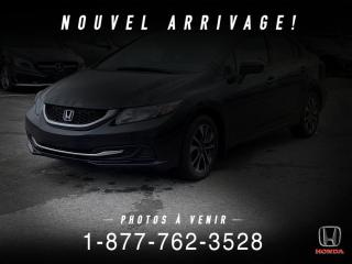 Used 2015 Honda Civic EX + MANUEL + TOIT + MAGS + WOW! for sale in St-Basile-le-Grand, QC