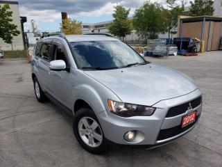 Used 2012 Mitsubishi Outlander 7 Pass, 4WD, 3 Years warranty availab for sale in Toronto, ON