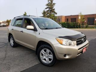 Used 2007 Toyota RAV4 4WD, Automatic, 4 door, 3/Years warranty available for sale in Toronto, ON