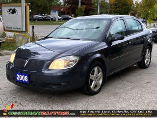 Used 2008 Pontiac G5 SE w/1SA|LOW KM|SUNROOF|6 MONTH WARRANTY|CERTIFIED for sale in Oakville, ON