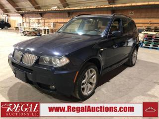 Used 2007 BMW X3 M Sport 4D UTILITY 3.0SI AWD for sale in Calgary, AB