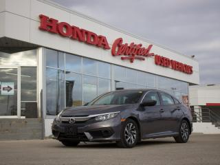 Used 2018 Honda Civic EX HONDA SENSING | LOCAL for sale in Winnipeg, MB