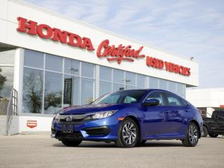 Used 2016 Honda Civic EX | SUNROOF | APPLE CARPLAY for sale in Winnipeg, MB