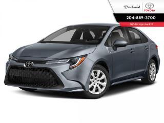 New 2021 Toyota Corolla LE STD PKG for sale in Winnipeg, MB