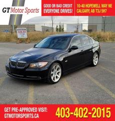 Used 2007 BMW 3 Series 335i | $0 DOWN - EVERYONE APPROVED! for sale in Calgary, AB