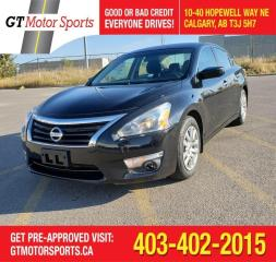 Used 2015 Nissan Altima 2.5 S | $0 DOWN - EVERYONE APPROVED! for sale in Calgary, AB
