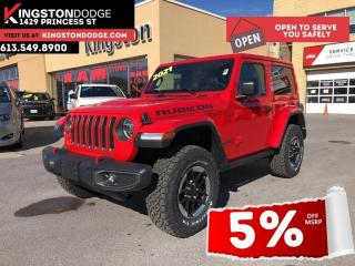 New 2021 Jeep Wrangler Rubicon | Trailer Tow | Nav | Heated Seats | for sale in Kingston, ON